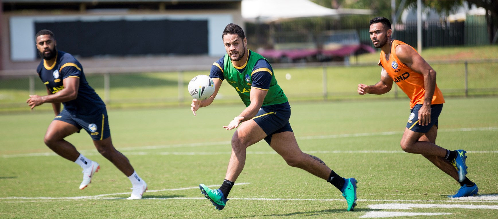 Eels prepare for Cowboys in Darwin