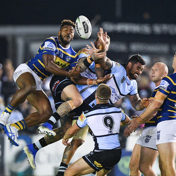 Sharks secure dominant win over Eels