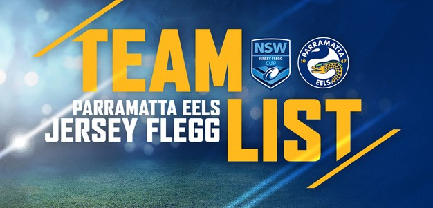 Eels Jersey Flegg v Knights Team List