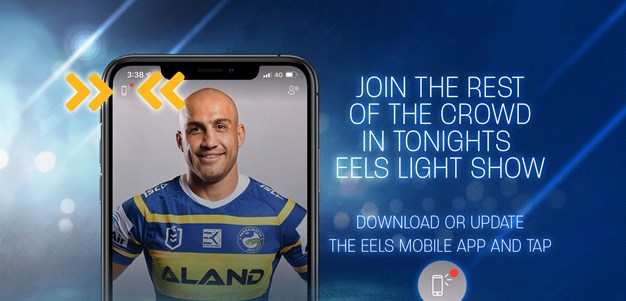 Join the Eels Light Show this Friday night!