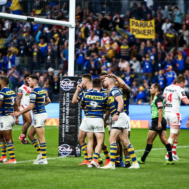 FAN VOTE | Best on ground - Eels v Dragons, Round Eight