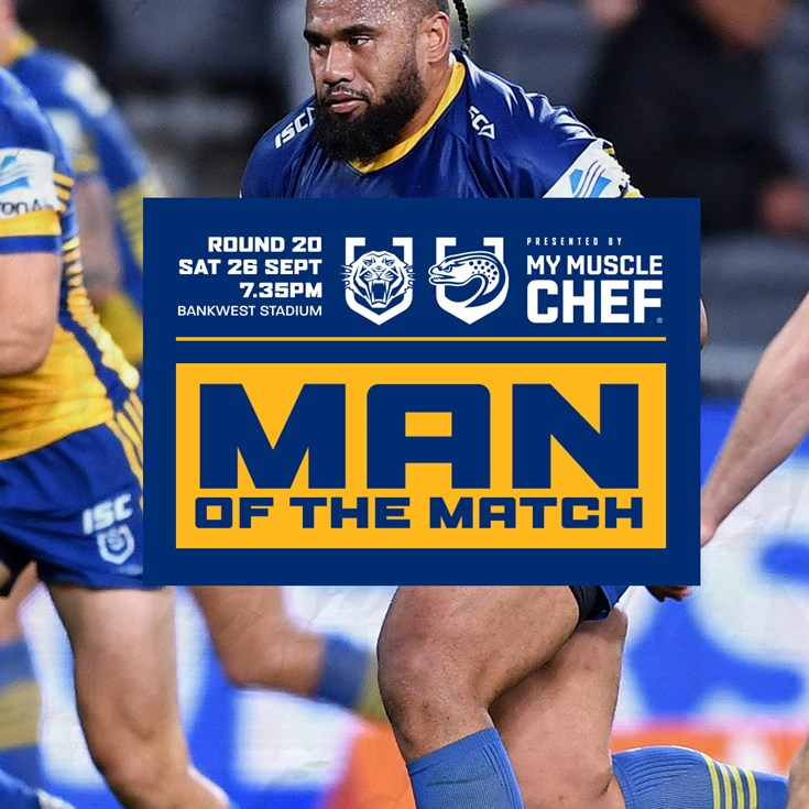 Man of the Match: Wests Tigers v Eels