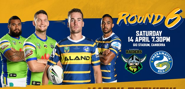 Raiders v Eels Match Preview
