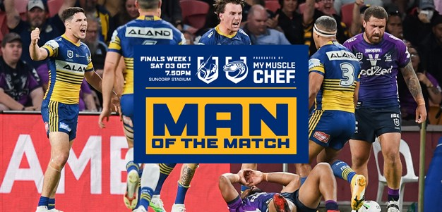 Man of the Match: Storm v Eels, Qualifying Final