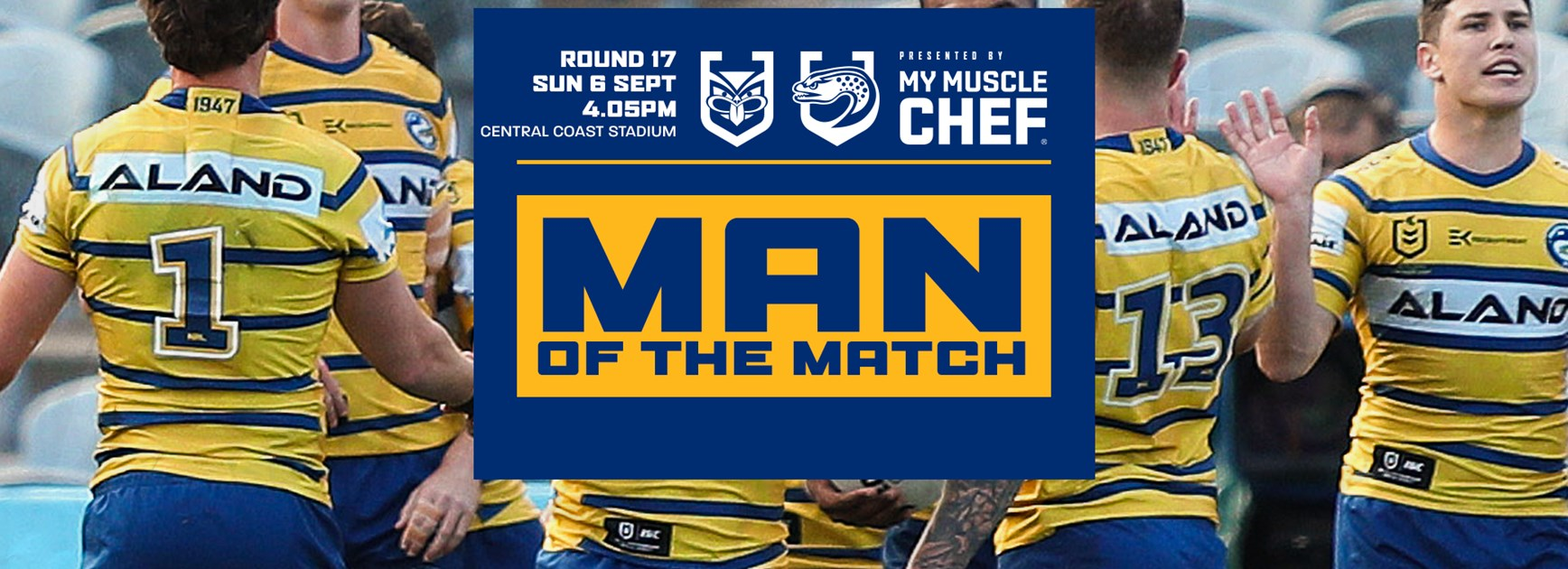 Man of the Match: Warriors v Eels, Round 17