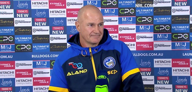 Post Match: Brad Arthur, Round 12