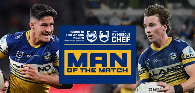 Best on Ground - Eels v Rabbitohs, Round 16