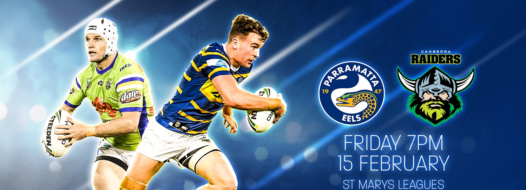Eels to play pre-season trial against Canberra