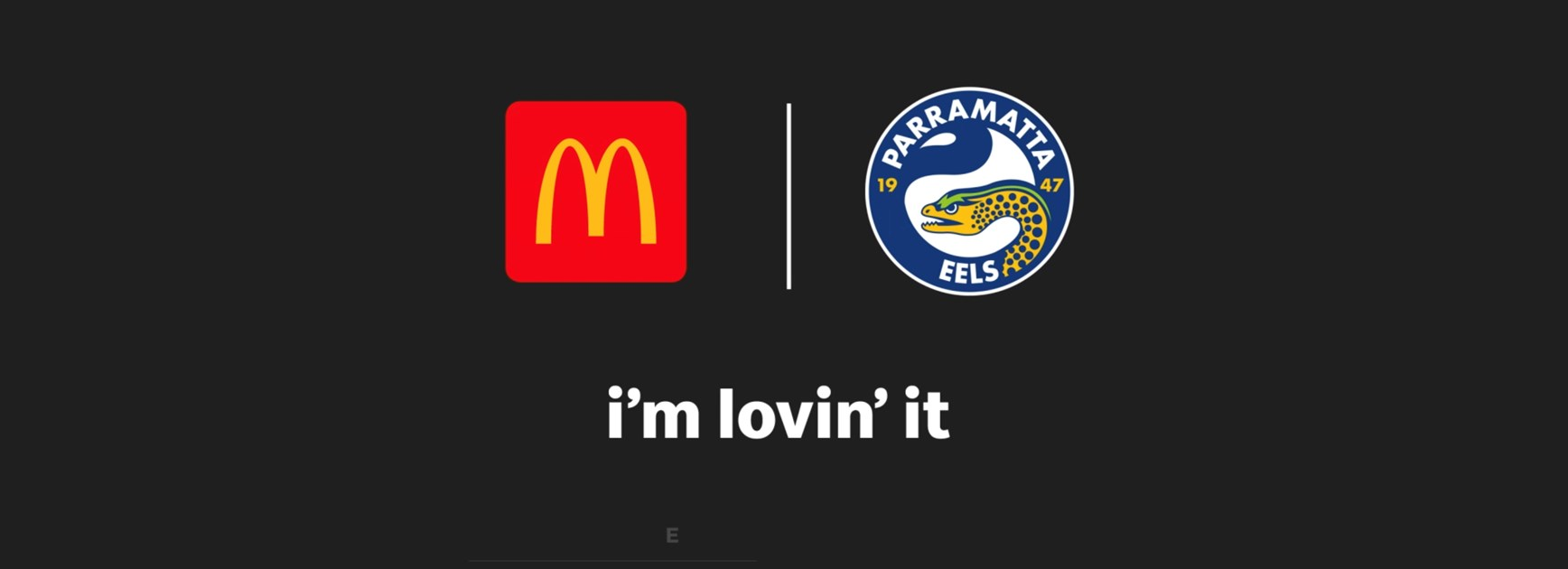 McDonald's joins as the official restaurant partner of the Parramatta Eels