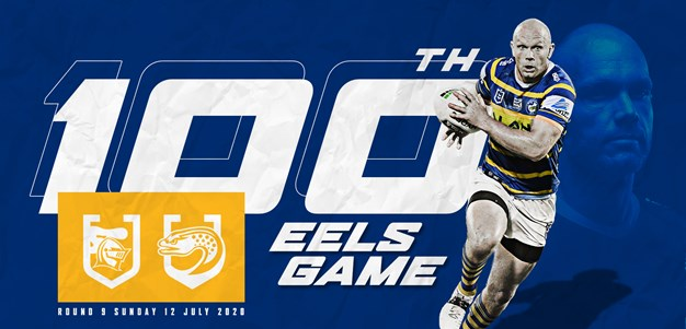 Gower's 100th Eels game