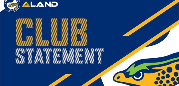 Club Statement: Peni Terepo