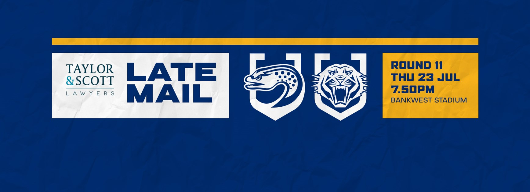 Late Mail: Eels v Wests Tigers