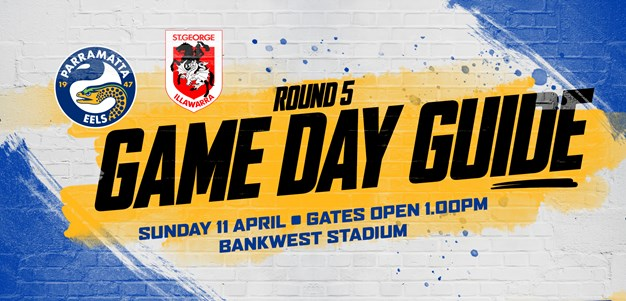 Game Day Guide - Eels v Dragons, Round Five