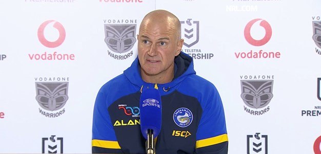 Post Match: Brad Arthur, Round 17