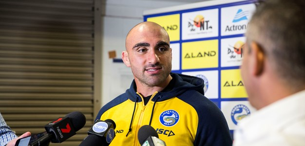 Mannah: Putting in a proud performance in Johnny Mannah Cup
