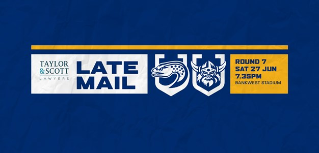 Late Mail: Eels v Raiders, Round Seven
