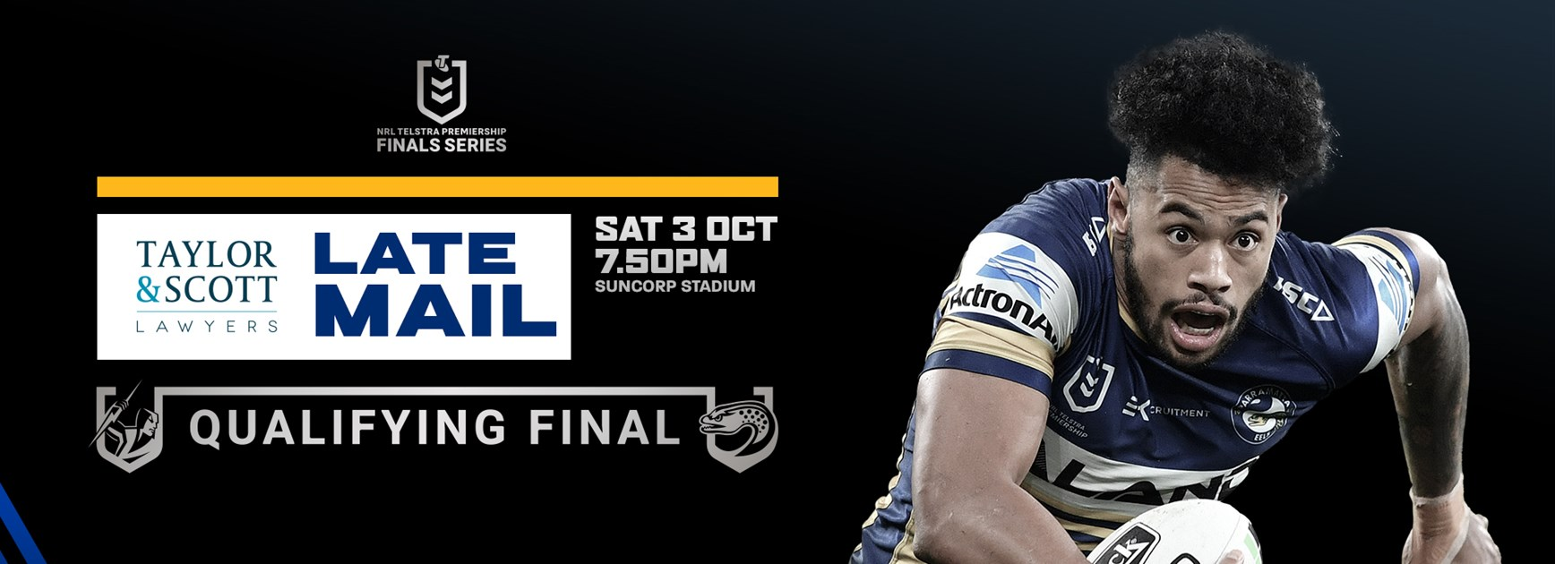 Late Mail: Storm v Eels, Qualifying Final