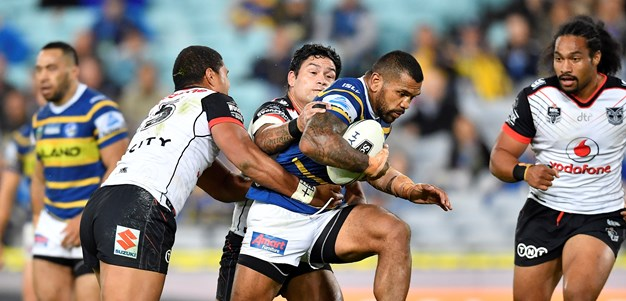 Eels comeback falls short against the Warriors
