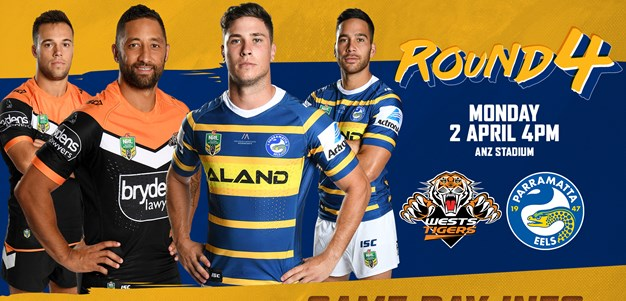 Wests Tigers v Eels - Game Day Info