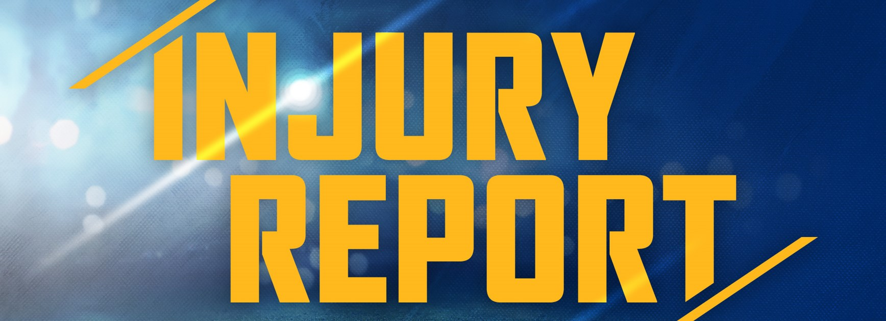 Injury Report: Round Three