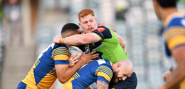 Eels' late charge to slip past Raiders