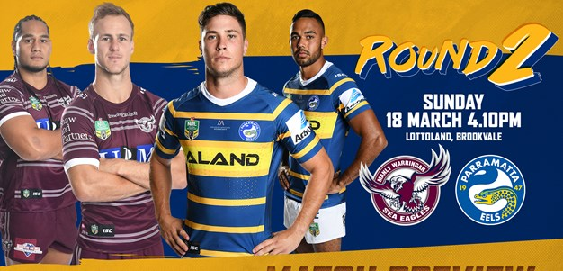 Sea Eagles v Eels Round Two Match Preview