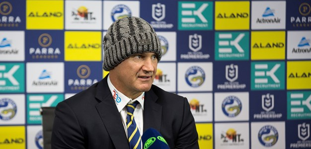 Arthur happy with Eels' gritty win