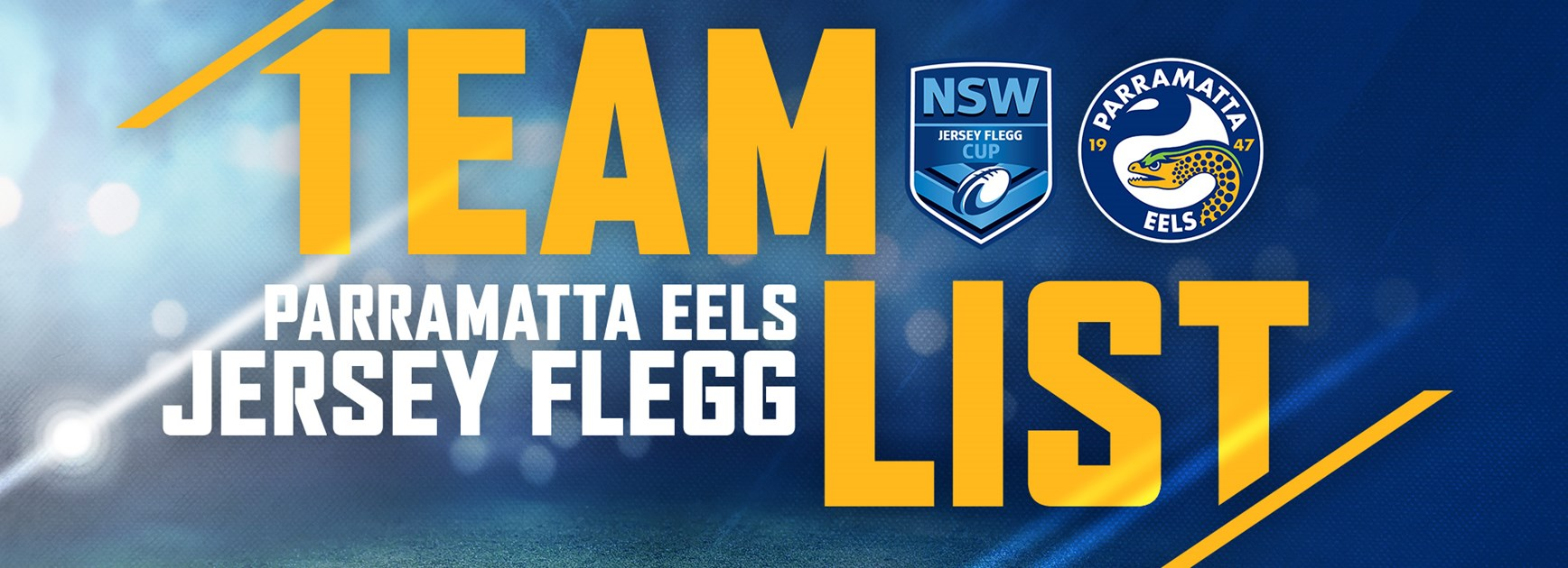 Eels Jersey Flegg Round Eight Team List