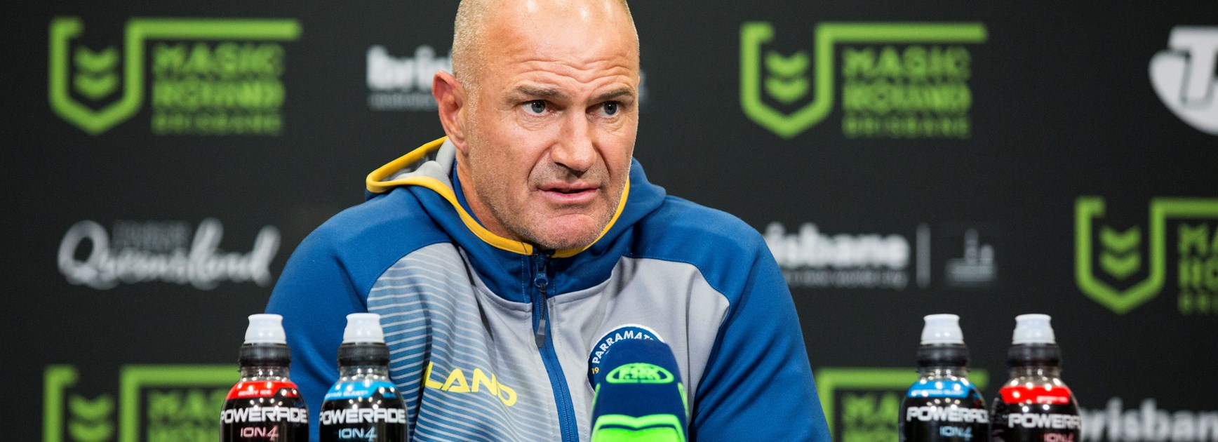 Arthur calls Eels' performance soft