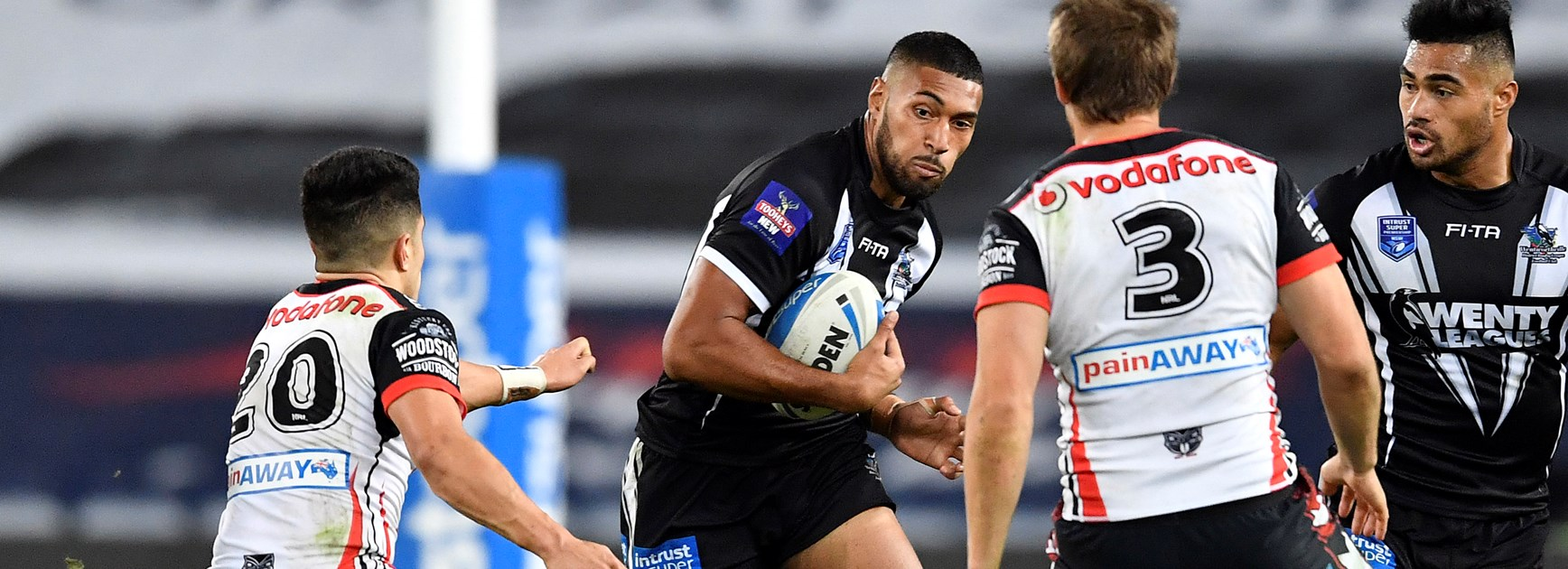 Warriors run over Magpies