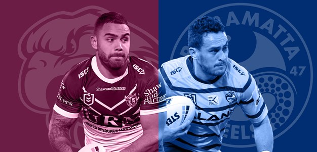 Sea Eagles v Eels, Round 18 Match Preview