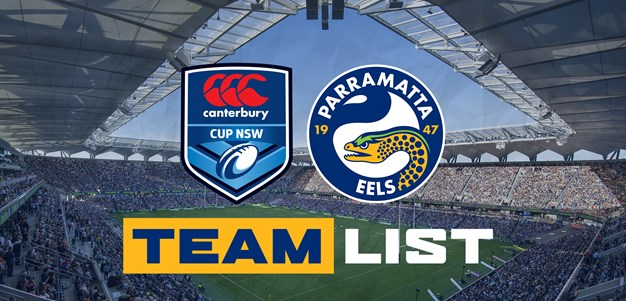 Canterbury Cup Team List - Round One