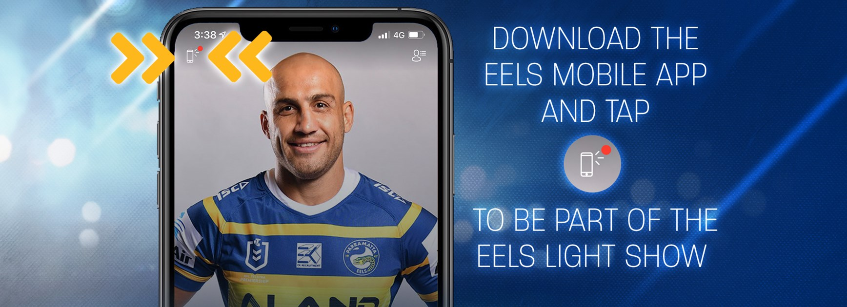 Be Part of the Eels Light Show