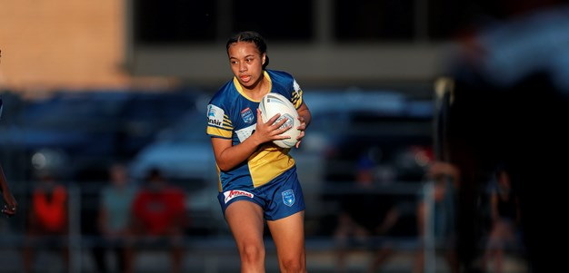 Eels girls fight back for first win of season
