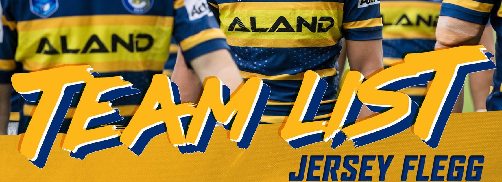 Eels Jersey Flegg Round Six Team List