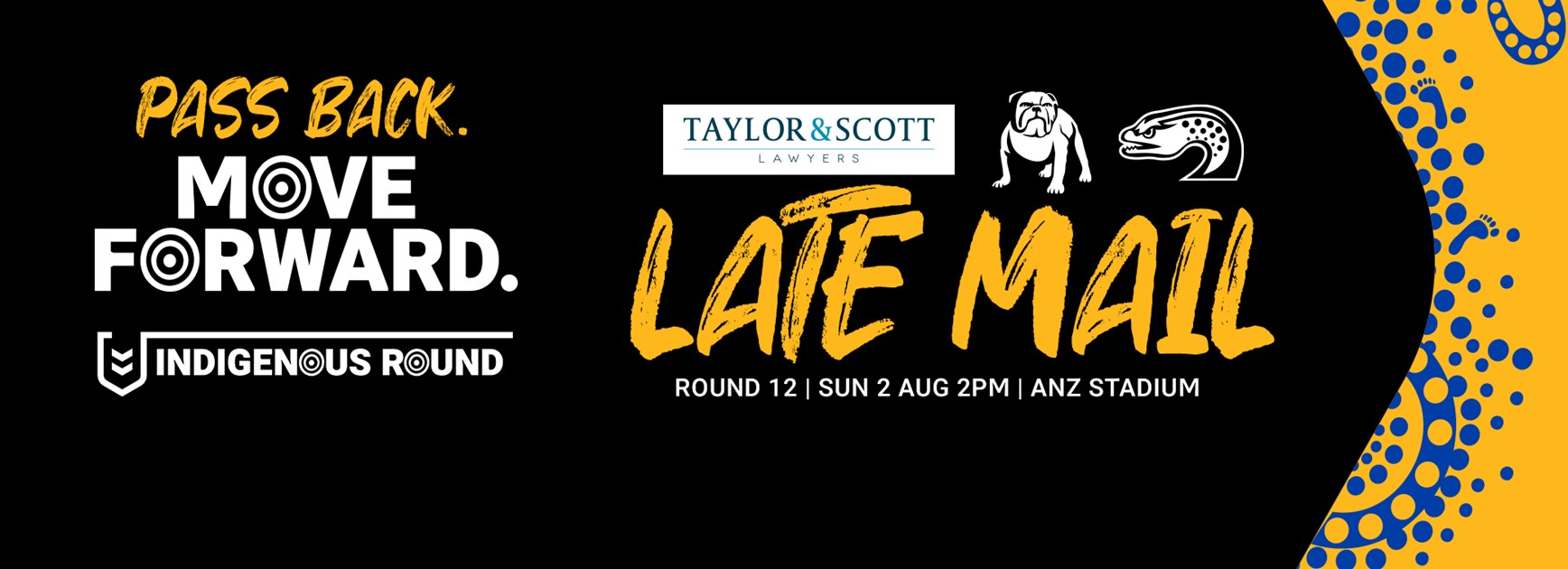 Late Mail: Bulldogs v Eels, Round 12