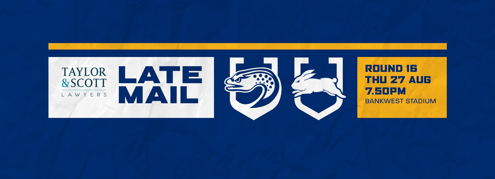 Late Mail: Eels v Rabbitohs, Round 16