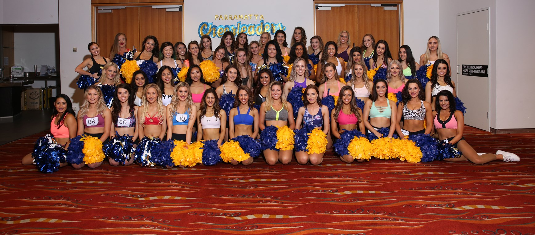 2018 Parramatta Eels Cheerleaders Auditions