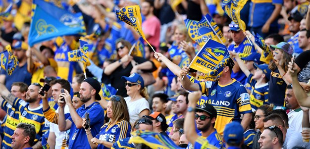 Parramatta Eels round 8 match at Bankwest Stadium almost sold out