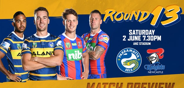 Eels v Knights, Round 13 Match Preview