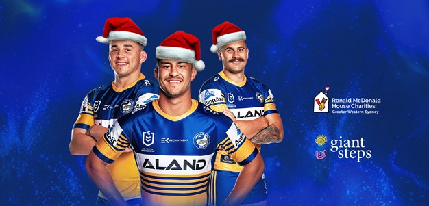 The 2020 Parramatta Eels Giving Tree