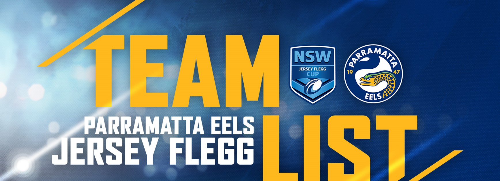Jersey Flegg Round Five Team List