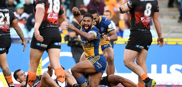 Eels grind out two points in back and forth affair