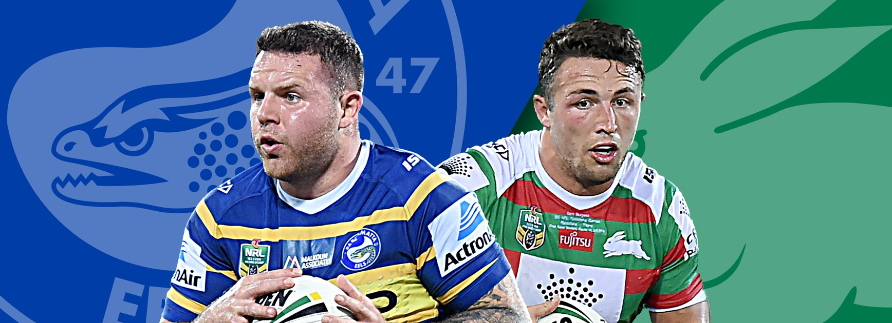 Eels v Rabbitohs - Round 15 Match Preview