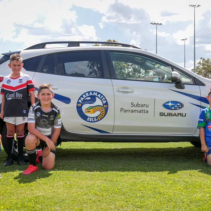 Subaru partners with the Parramatta Eels