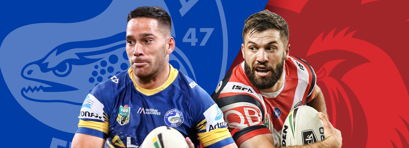 Eels v Roosters, Round 25 Match Preview