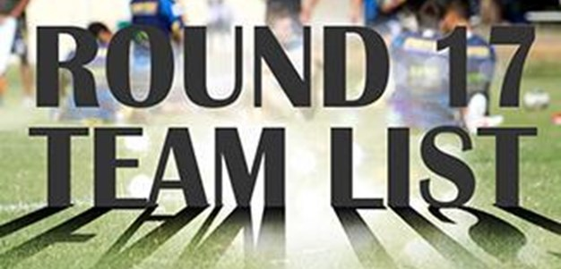 Round 17: Eels NRL Team List