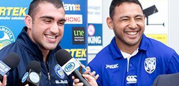 Tim Mannah & Krisnan Inu talk up the Bandaged Bear Cup