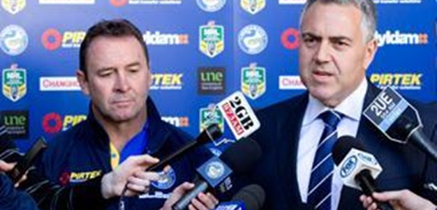 Ricky Stuart & Joe Hockey: Media Conference