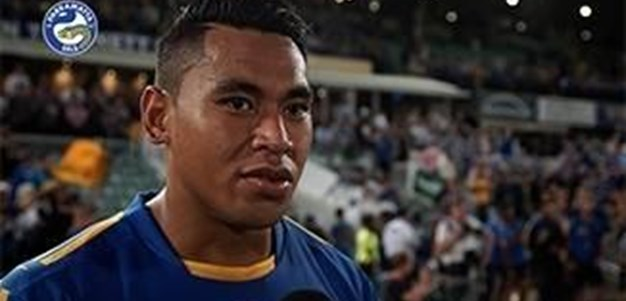 John Folau post-game against Souths